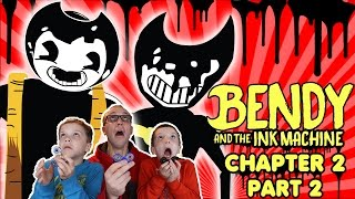 PBT Fidget Spinners! Bendy and the Ink Machine Chapter 2 Part 2 Twin Toys Kids Jumpscare