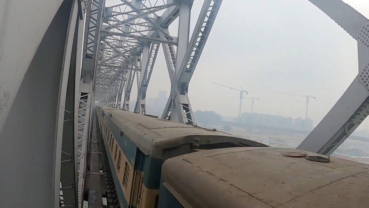 Bijoy express in a rail bridge || Bangladesh Railway Bridge