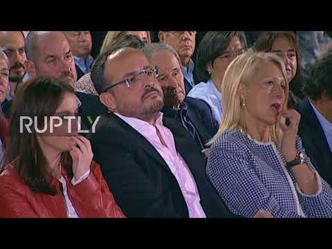 Spain's Rajoy rallies Catalonia's 'silent majority' to vote