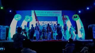 Gajar Kirtanacha Sohala Andandacha SST COLLEGE special Dance performance by culture COMMEEITE 2018
