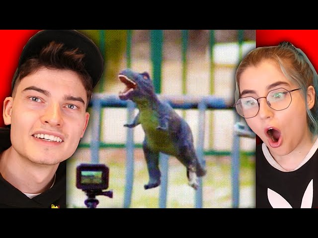 reacting to really cool internet videos ft my flatmate