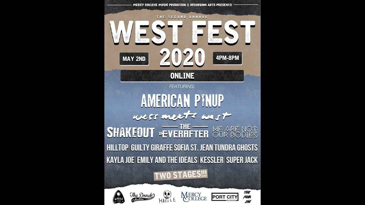 West Fest Online - Today at 4PM