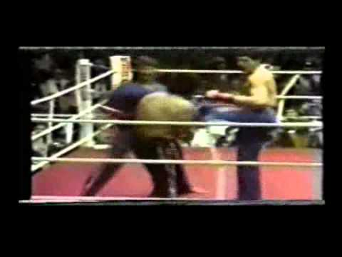 Danny Macaruso vs Dominique Valera World Title Kickboxing Match, Brussels, Belgium, 1980
