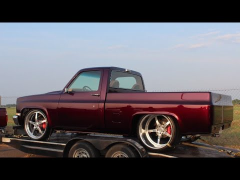 Veltboy314 - Candy Nitrous Small Block C-10 on 24x15 Billets - How U Ridin' Car Show & Grudge Race