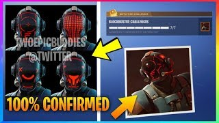 *CONFIRMED* BLOCKBUSTER SKIN RELEASED! CUSTOMIZABLE HELMET & MORE! Fortnite Battle Royale