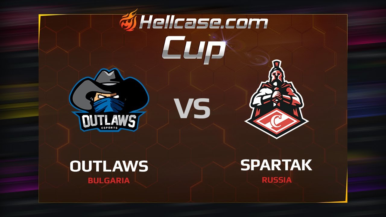 [EN] Outlaws vs Spartak, map 2 mirage, Hellcase Cup Season 5