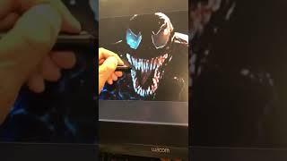 Todd Tweeks his Creation..Venom.