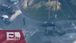 Persecución de los autores del tiroteo en San Bernardino, California / Martín Espinosa