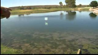 No fishing signs ignored at golf course