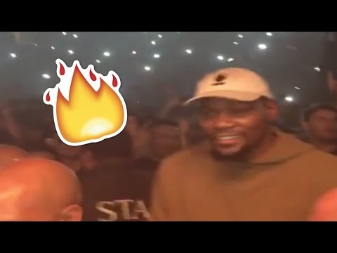 Steph Curry, Kevin Durant and Ayesha Curry Get LIT at Kanye West's Concert
