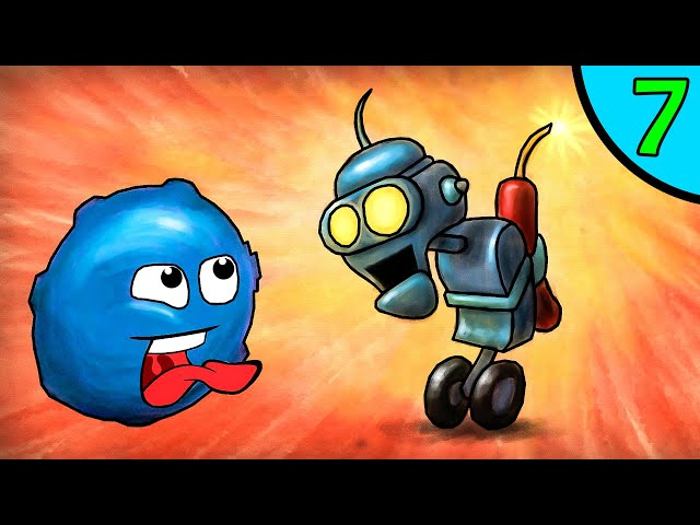 ЛИЗУН глазастик ГУ в подводном мире #7. Игра Goo Saga на канале Игрули TV