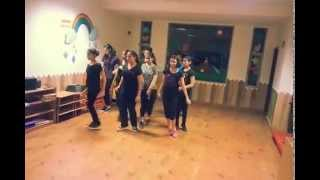 DANZ N BUZZ BEGINNERS ROUTINE JUNE 2015 JAZZ DANCE- BOLLYWOOD