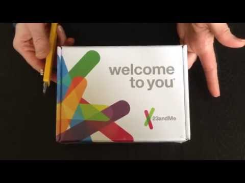 23andMe Genetic kit for ancestry - Unboxing