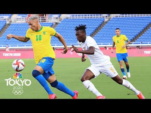 Download Brazil vs. Côte d'Ivoire   Tokyo Olympics 2020: Men's Soccer Highlights   NBC Sports