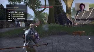 The One Where I Test My New PS4 Camera - Elder Scrolls Online Stream