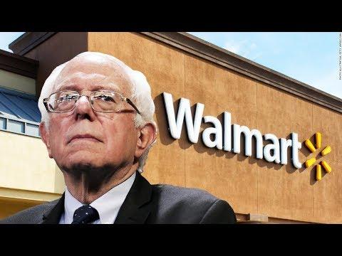 Bernie & Ro Khanna Introduce 'Stop Walmart Act'