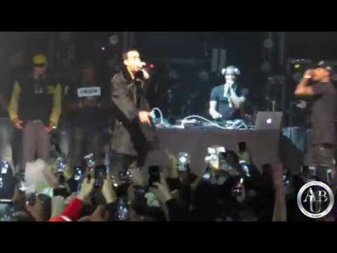 """French Montana Performs """"Don't Panic"""" & """"Hot Nigga"""" At Best Buy Theater (All Star Weekend 2015)"""