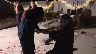 Husband Surprises Wife With Second Proposal for 20th Anniversary