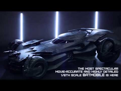 Hot Toys BvS: Dawn of Justice 1/6th scale Batmobile Collectible Vehicle Reveal