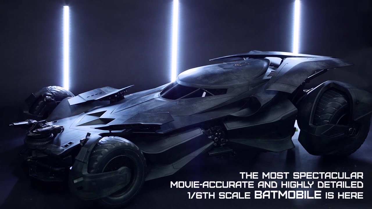 The new Batmobile from 'Batman v. Superman' has been fully ...