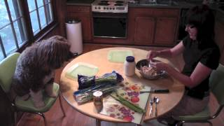 Dog Training: Cooking With Your Dogs Episode 1 - Chicken Salad