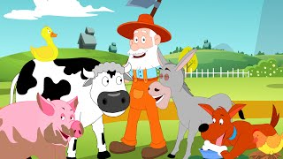 Old MacDonald Had A Farm | English Nursery Rhymes & Songs for  Children