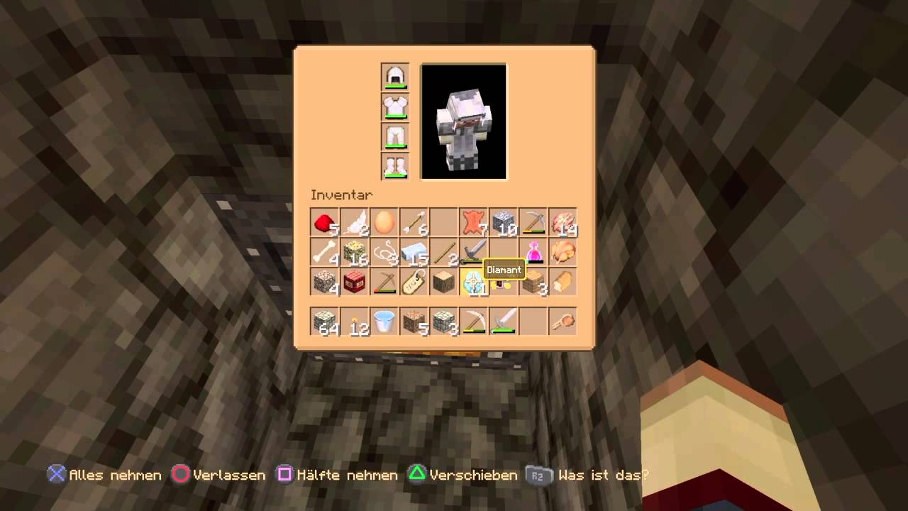 Varo Überschwemmung Von Diamanten Minecraft Ps Edition - Minecraft hauser verschieben