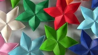 Оригами из бумаги цветок //origami paper flower Простое популярное Поделки своими руками(Оригами из бумаги цветок //origami paper lily flower Простое популярное оригами Поделки своими руками Поделки своими..., 2016-04-08T12:32:22.000Z)