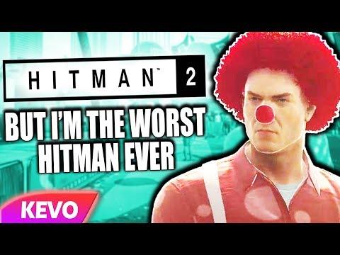 Hitman 2 but I'm the worst hitman ever