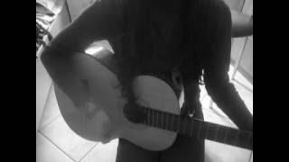 cher lloyd superhero acoustic karaoke cover guitar by Fay E.