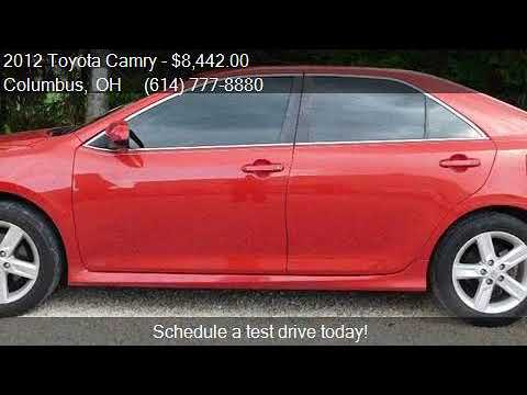 2012 Toyota Camry SE Sport Limited Edition 4dr Sedan for sal