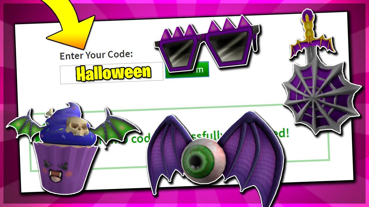 October All Working Promo Codes On Roblox 2019 Halloween Roblox