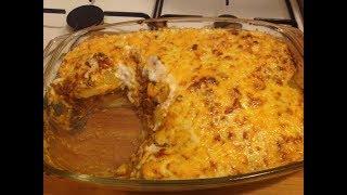 Baradho Lasagne | Lasagne Style-Potato Bake recipe