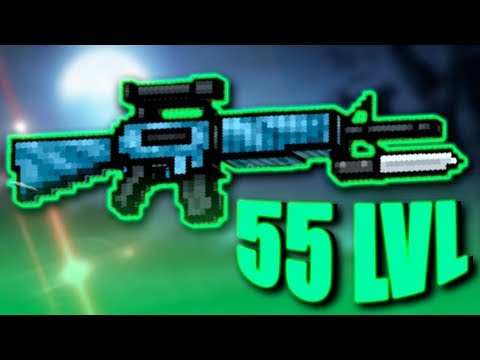 55 Lvl - Combat Rifle | Op Or Bad? | Pixel Gun 3D