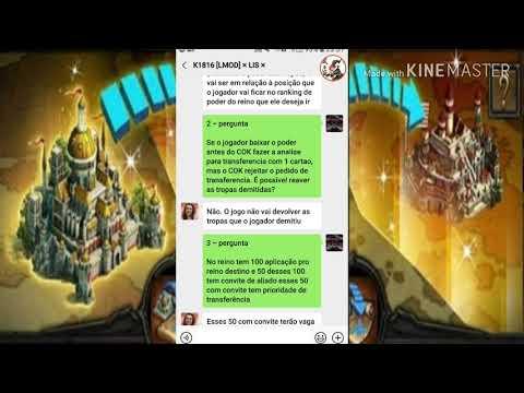 CLASH OF KINGS ~ TRANSFERÊNCIA DE REINOS