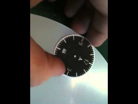 Ska S Custom Watch 1st Finished Dial Youtube