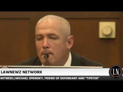 Bella Bond Murder Trial Day 4 Part 1 Michael Sprinsky Testifies 060217