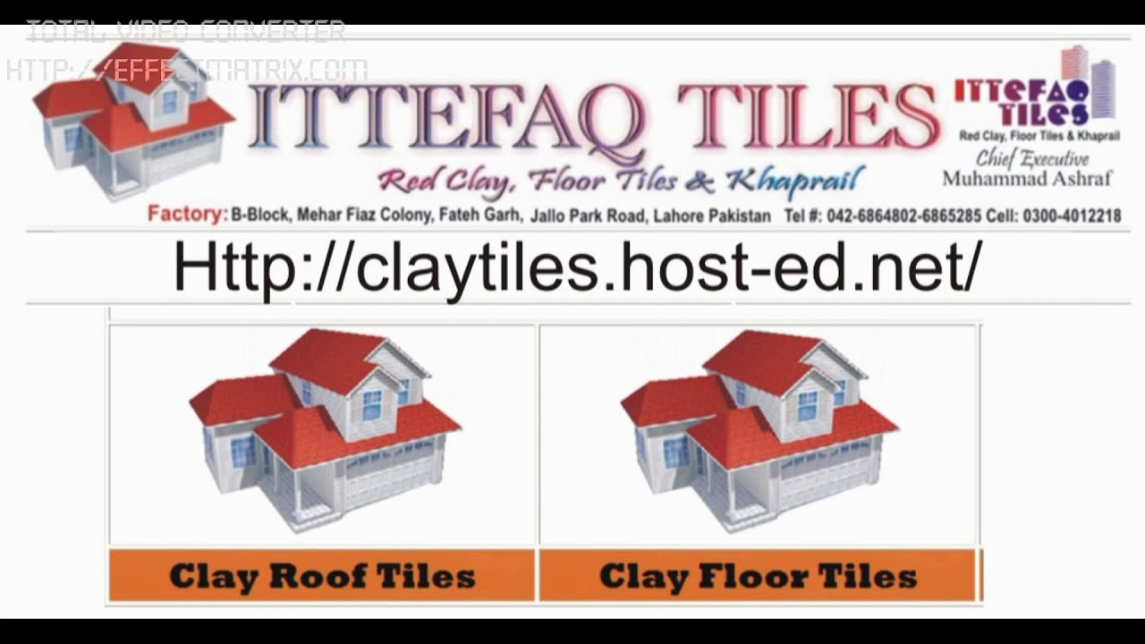 Red clay floor tiles gallery tile flooring design ideas clay roof tiles pakistan youtube clay roof tiles pakistan dailygadgetfo gallery doublecrazyfo Gallery