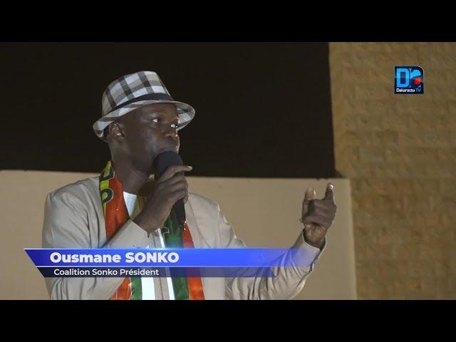 Ousmane Sonko veut faire de Thiès un centre de développement économique et social