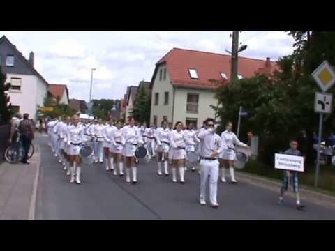 Musikfest Hirschfeld 2013 Fanfarenzug Strausberg