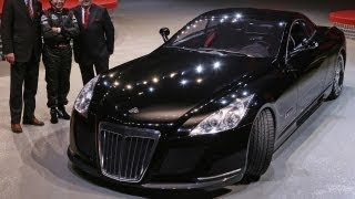 The World's Most Expensive Car Maybach Exelero $8 millions