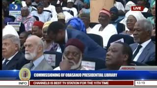 commissioning of obasanjo presidential library obasanjo speaks pt 5