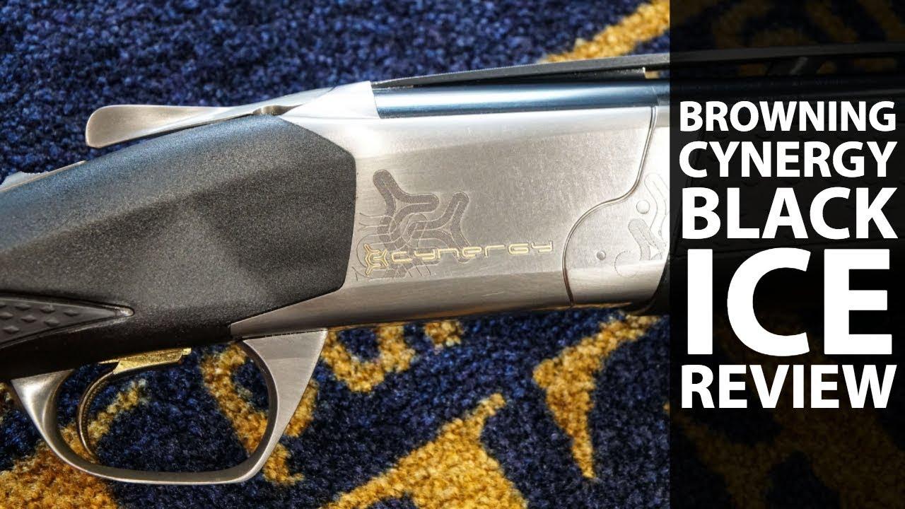 Browning Cynergy Black Ice shotgun review