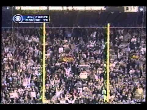 Adam Vinatieri Kicks Game Winning Field Goal in Super Bowl XXXVIII
