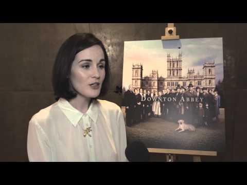 Downton Abbey Season Five Christmas Special 2014 - cast interviews