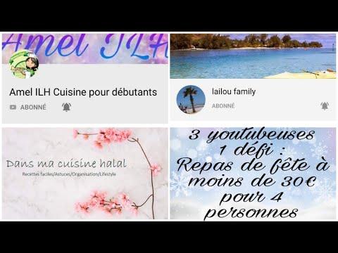 #defi-#noel-#nouvelan-#fetes-défi-un-repas-de-fête-à-moins-de-30€-pour-4-personnes