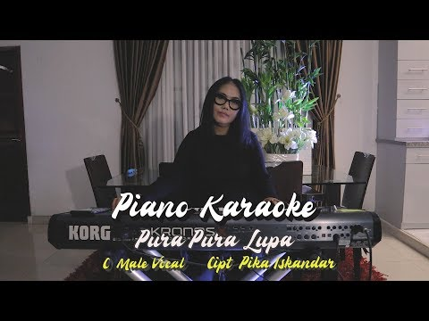 pura-pura-lupa---mahen-(karaoke-piano)-(c-male-vocal)