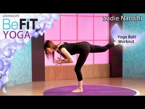 Yoga Butt Workout: Sadie Nardini- BeFit Yoga
