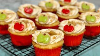 Easy Apple Pie Cupcakes!