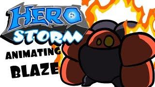 HeroStorm - Blaze Ability Speed Animation